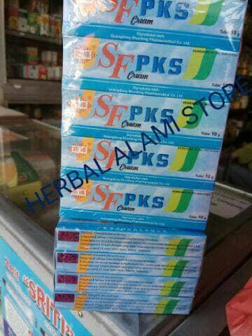 harga Pks sf - pi kang shuang biru ( mengatasi jamur,panu,kudis,kurap,eksim) Tokopedia.com