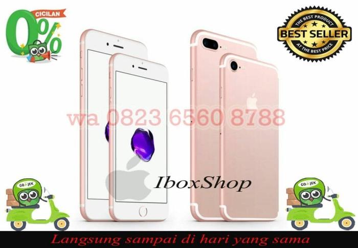 harga [ip 7- 32gb]- iphone 32gb 7 rosegold garansi 1tahun Tokopedia.com
