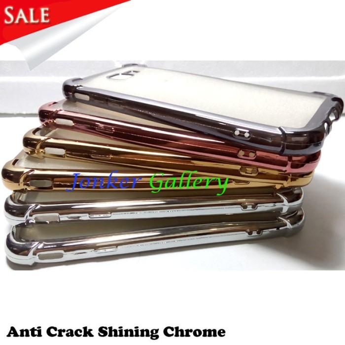 harga Samsung galaxy note 3 soft case anti crack list chrome Tokopedia.com