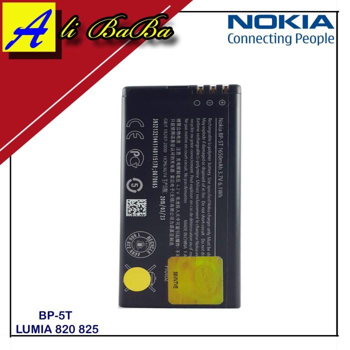 harga Baterai handphone nokia bp-5t lumia 820 825 batre hp battery nokia Tokopedia.com