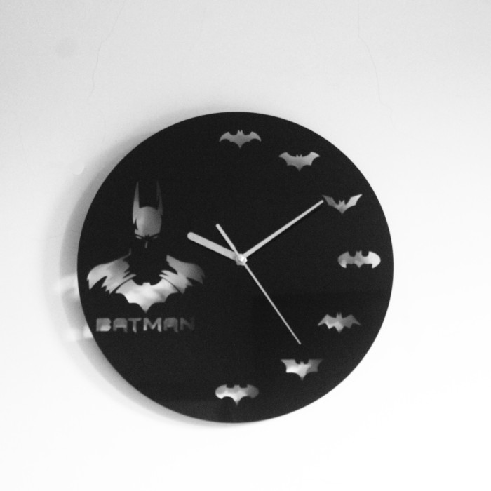 Jual JAM DINDING BATMAN   BATMAN WALL CLOCK   JAM DINDING KARAKTER ... 3e662fa3f4