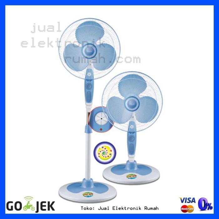 harga Stand fan kipas angin berdiri miyako 16 inch kas1629kb nomor 1 Tokopedia.com