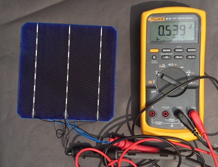 harga Monocrystalline solar cell Tokopedia.com
