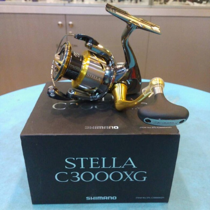 harga Reel Shimano Stella C3000xg Fi - 2014 Tokopedia.com
