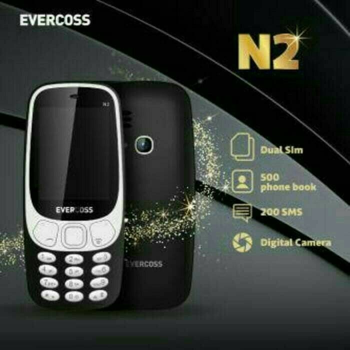 harga Evercoss n2 2.4inch dual sim card Tokopedia.com