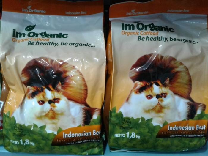 Im organic indonesian best 18kg - makanan kucing