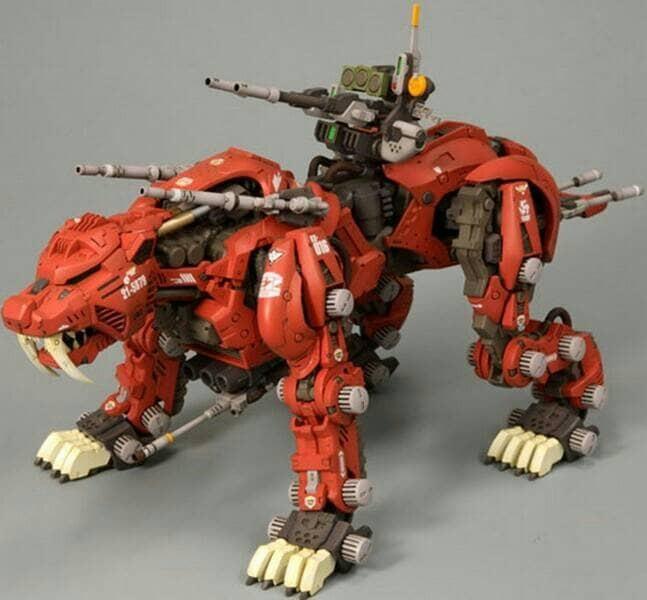 harga Hmm 1/72 zoids saber tiger red bt model Tokopedia.com