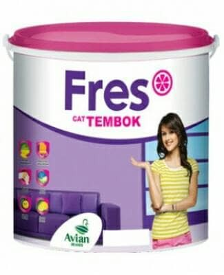 harga Cat tembok fres by avian paint 5kg Tokopedia.com
