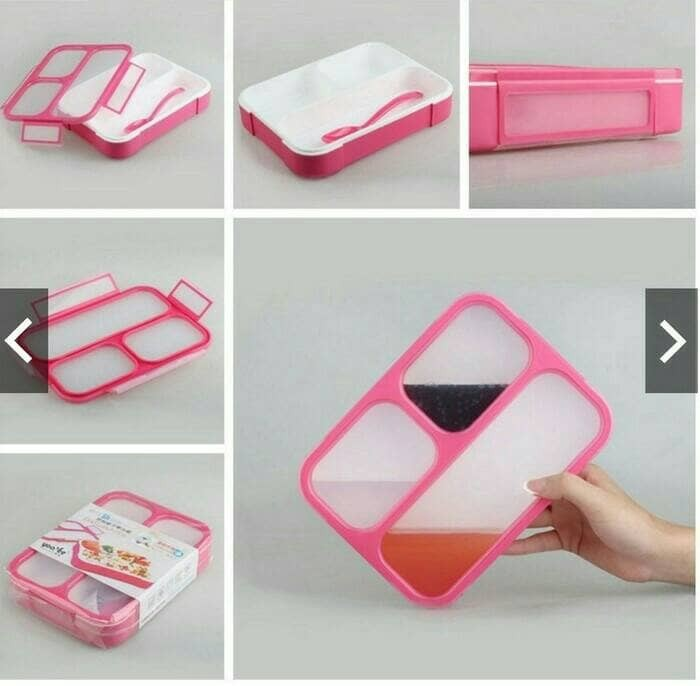 Yooyee kotak makan bento lunch box 3