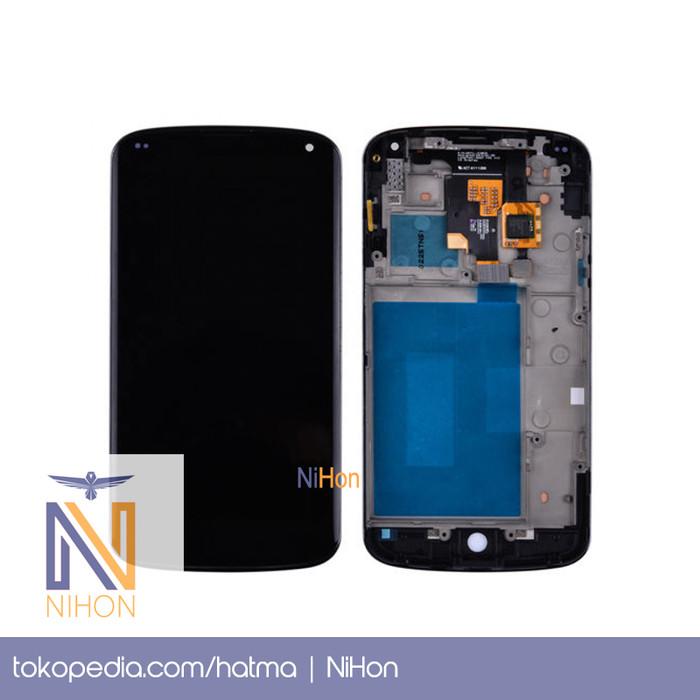 Jual LG Nexus 4 E960 - LCD + Frame + Touchscreen Layar Sentuh Touch Screen  - Jakarta Utara - NiHon | Tokopedia