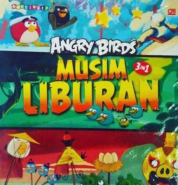 harga Buku cerita anak : angry birds: musim liburan - cerita 3 in 1 Tokopedia.com