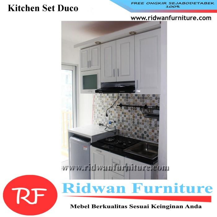 Jual Kitchen Set Minimalis Finishing Duco Free Design Harga Per Meter Jakarta Timur Ridwanfurniture Tokopedia