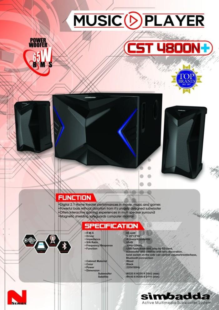 harga Speaker aktif simbadda cst-4800n Tokopedia.com