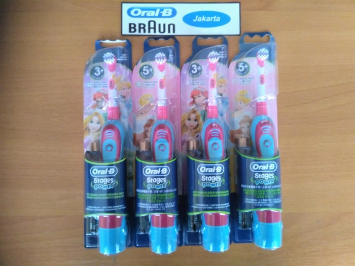 Jual Sikat Gigi Elektrik Anak Oral B Stages Power Disney Princess 5+ ... bbfee70e42