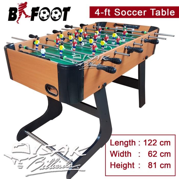 harga Soccer table 4 ft foldable - b-foot a meja foosball mainan hadiah anak Tokopedia.com