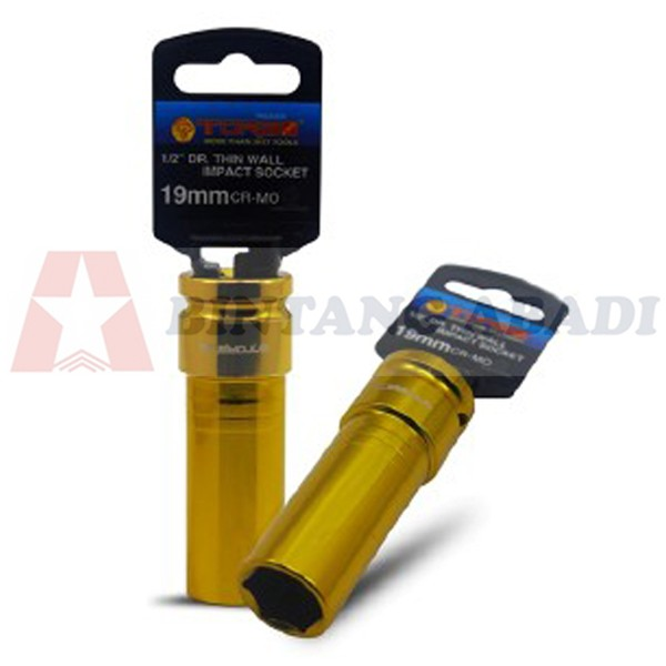 harga Tora mata socket kunci roda 19 mm x dr 1/2  thin wall u/ velg racing Tokopedia.com