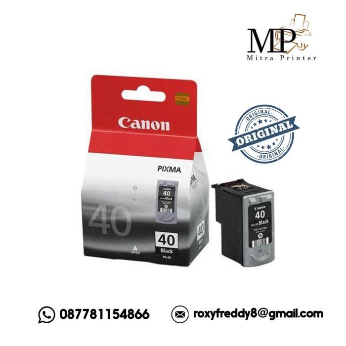 harga Canon original ink cartridge pg-40 (black) Tokopedia.com