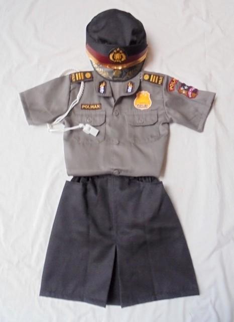 Jual Baju Polwan Anak Niyansuri Tokopedia