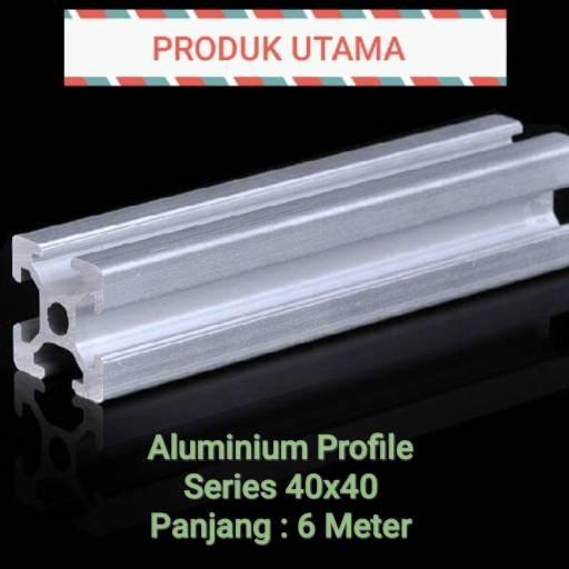Jual Aluminium Profile 40x40, P=6m - Kab  Bekasi - Aluminium_Profile_CV_AJT  | Tokopedia