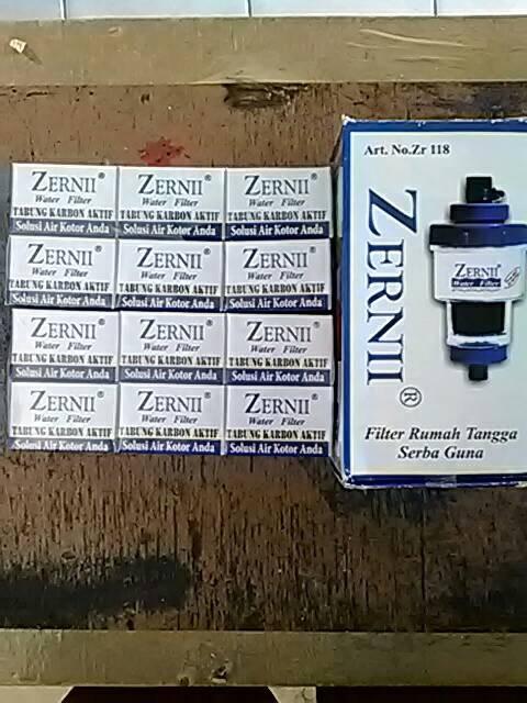 Paket 1 Zernii Dengan 12 Refill Karbon