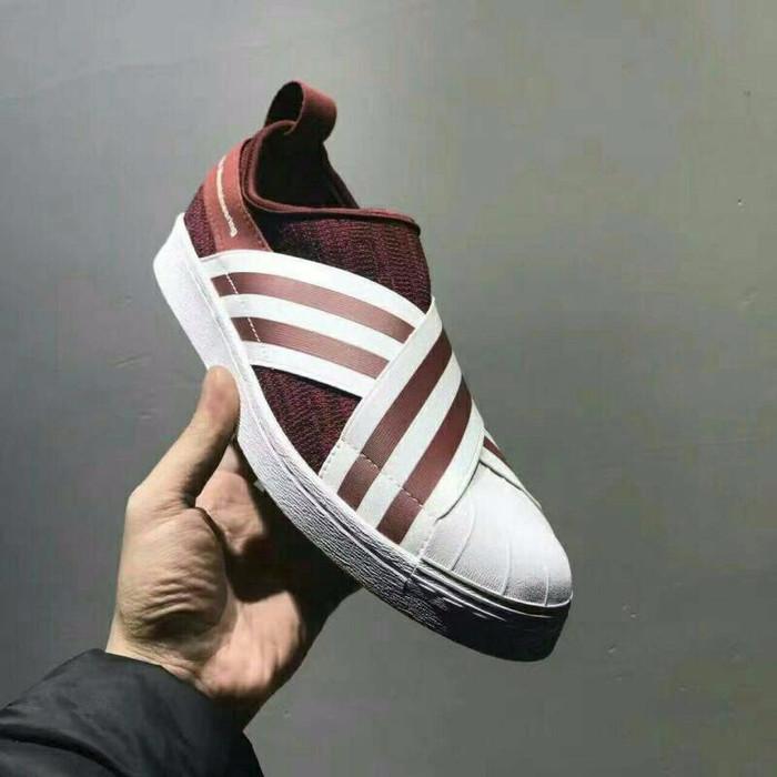 best service 0160e 7416e Jual Adidas Superstar Slip On Mountaineering Red - DKI Jakarta - storesule  | Tokopedia