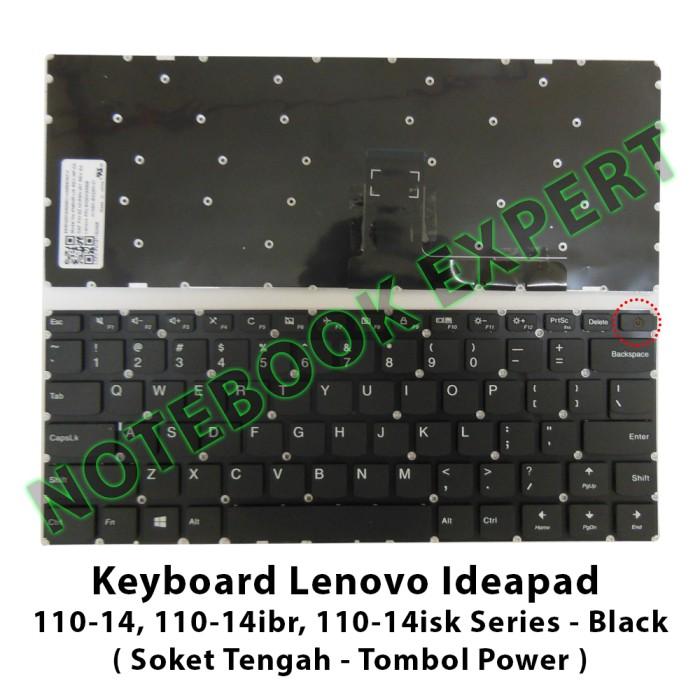 harga Keyboard lenovo ideapad 110-14 110-14ibr 110-14isk soket tengah Tokopedia.com