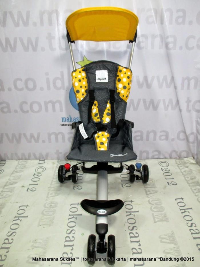 harga Jabodetabek go-send cocolatte cl08 isport baby stroller yellow polkado Tokopedia.com