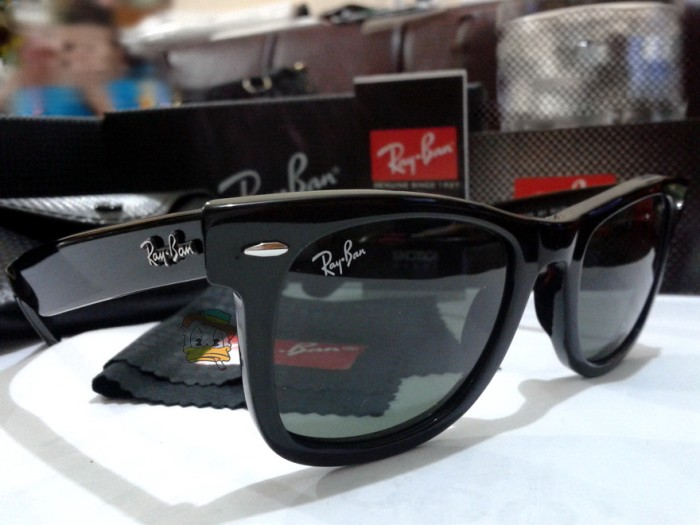 harga Kacamata rayban wayfarer 2140 hitam Tokopedia.com