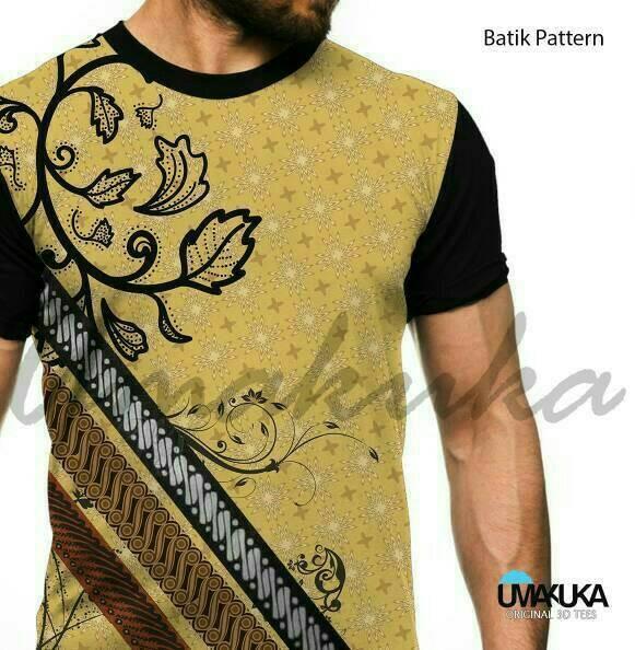 harga Kaos 3d umakuka batik pattern Tokopedia.com