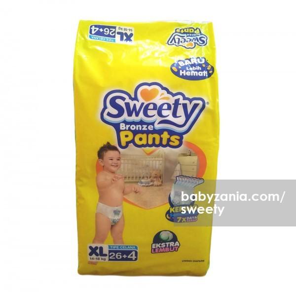 sweety popok bayi bronze pants - xl 26 4
