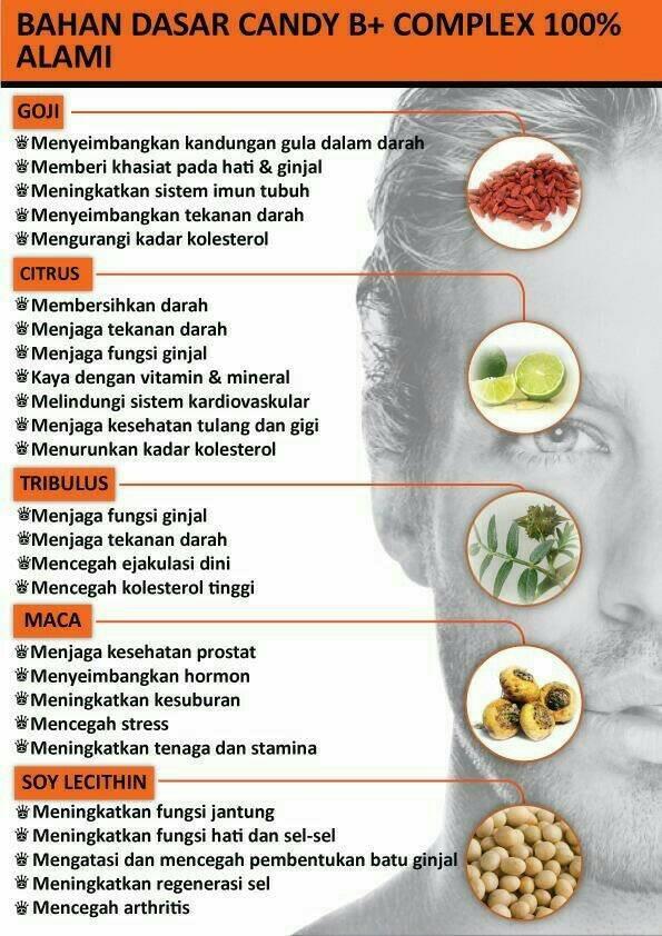 jual suplemen herbal pria candy b vitamin pria perkasa isi