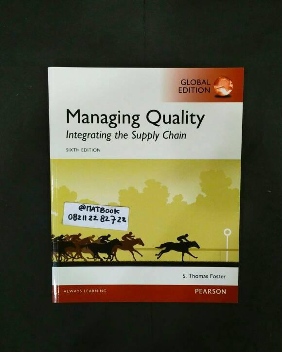 harga Managing quality 6ed Tokopedia.com