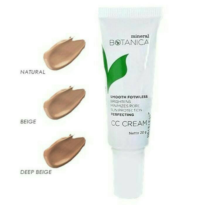 CC Cream Mineral Botanica