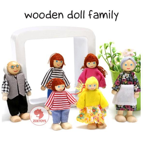 Foto Produk Wooden Doll Family dari zoetoys