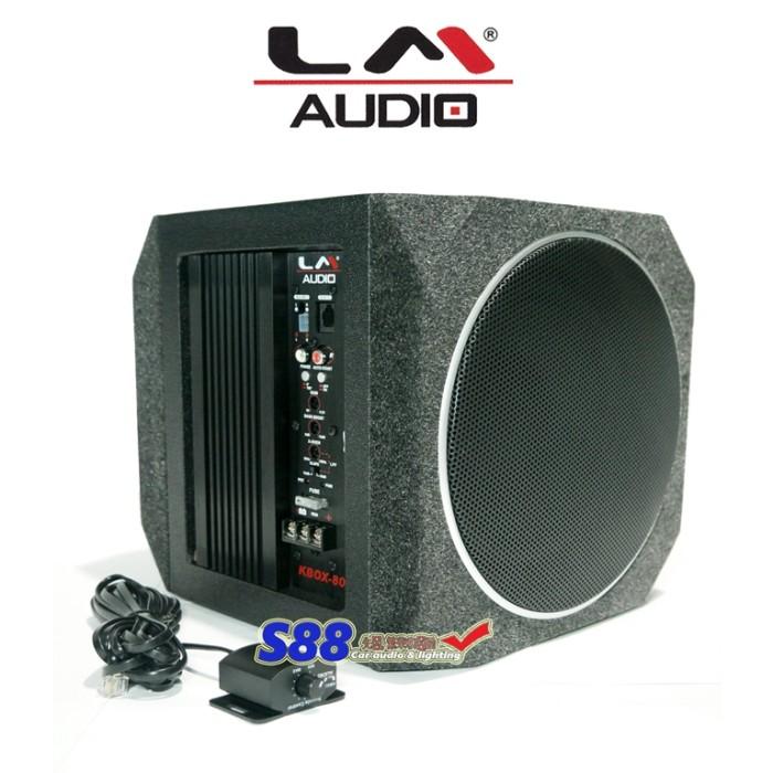 harga Lm audio kbox-800 basstube aktif dual subwoofer 8 Tokopedia.com