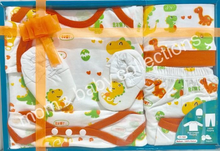 Baby Set / Gift Set Kiddy Dinosaur 11164 Orange