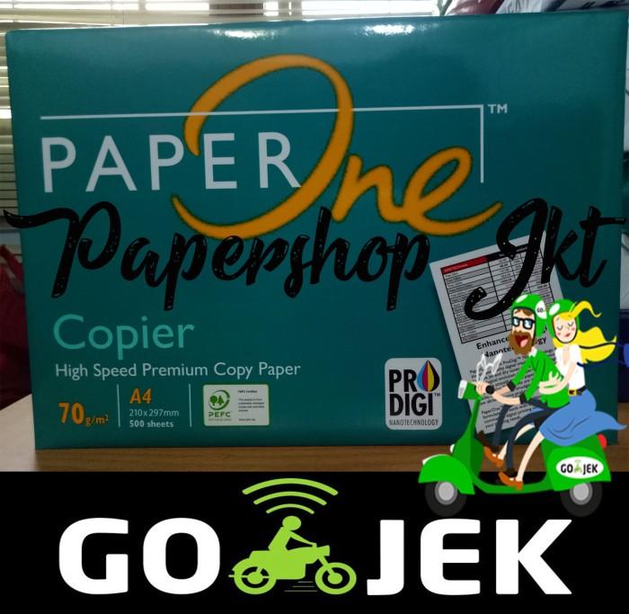 Foto Produk KHUSUS GO-SEND TERMURAH! Kertas PAPERONE A4 70 Gram Office Paper Print dari Paper Shop Jkt