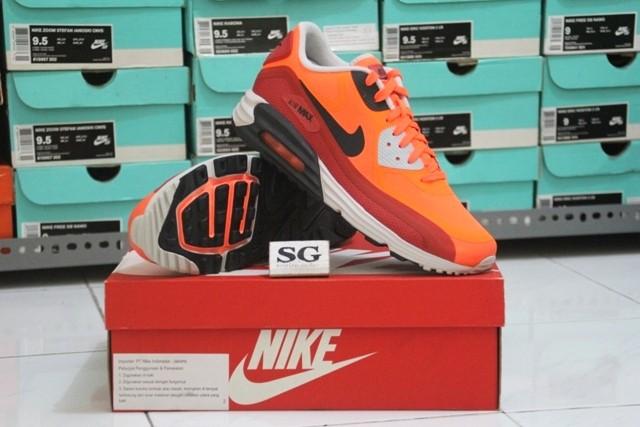 Jual sepatu casual nike air max lunar 90 WR hyper crimson original murah Kab. Sidoarjo sopirgusdur   Tokopedia