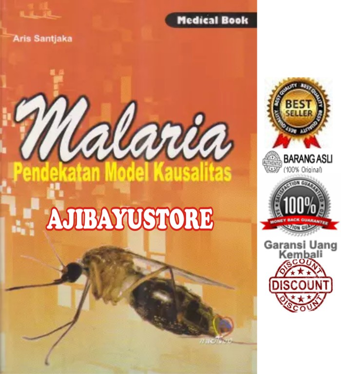 harga Malaria pendekatan model kausalitas nuha medika Tokopedia.com