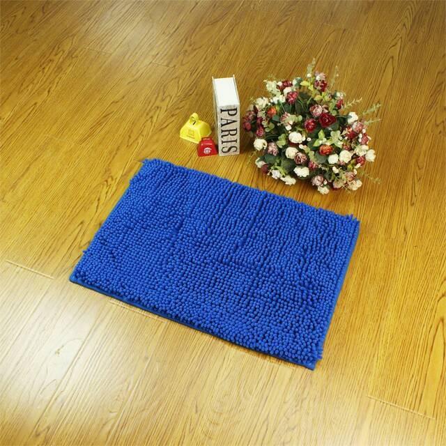 ... Keset Cendol Dof Biru 40 x 60 cm karpet bulu doormat chenille blue