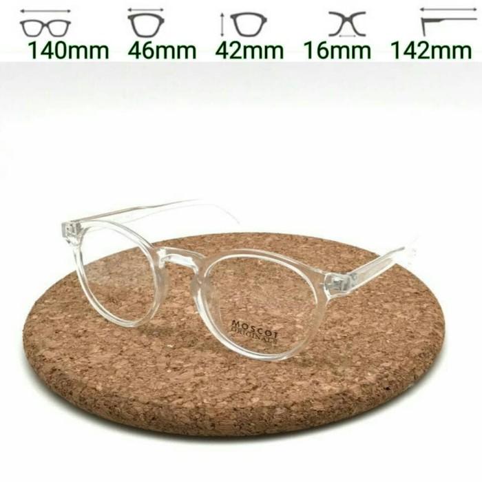 Jual Kacamata Moscot 3439 Transparan Frame Kacamata Baca Pria ... be2a6249ed