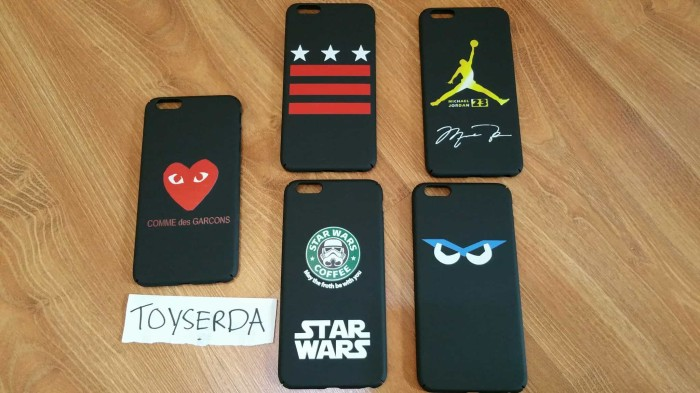 harga Iphone 6 plus 6plus full cover case casing star wars flip starbucks Tokopedia.com