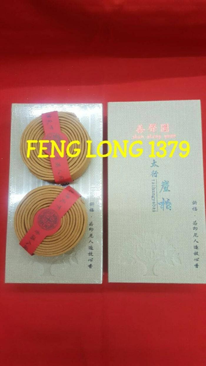harga Hio dupa lingkar 4 jam tai hang ya bai shan sheng yuan Tokopedia.com
