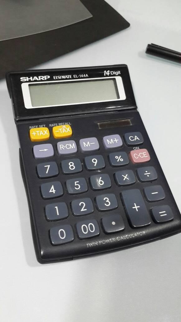 harga Sharp kalkulator Tokopedia.com