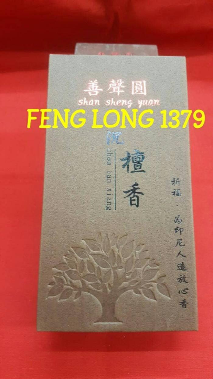 harga Hio dupa lingkar 2 jam chen tan xiang (cendana&gaharu) shan sheng yuan Tokopedia.com