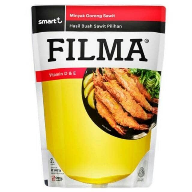 harga Minyak goreng filma 2 liter( via gojek) Tokopedia.com