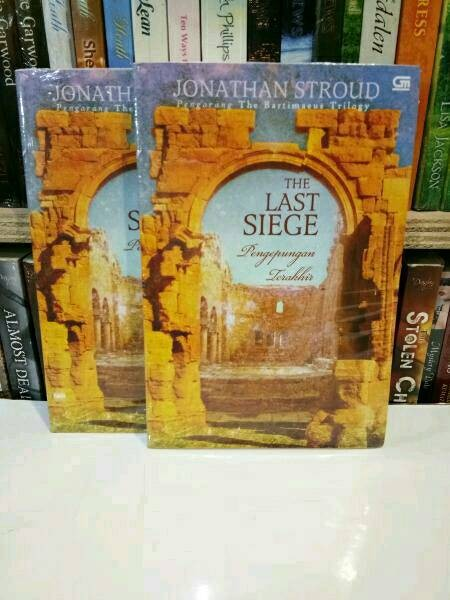 harga Jonathan stroud - the last siege Tokopedia.com