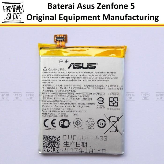 harga Baterai handphone asus zenfone 5 a500cg 5  inch original | inci batre Tokopedia.com