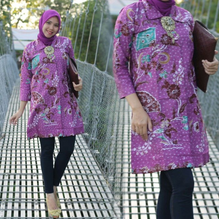 Jual Tunik Batik Yenny Model Jogja Kota Yogyakarta Grosir Batik Jogja Tokopedia