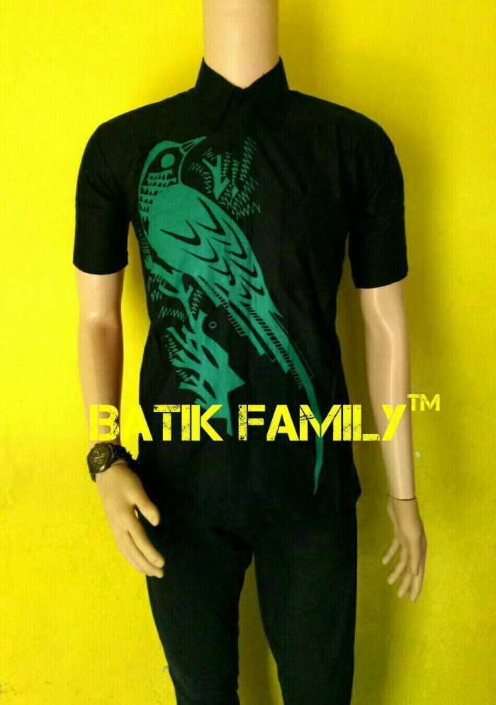 harga Kemeja hem baju batik pria kicau burung hijau terbaru Tokopedia.com